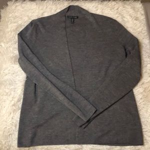 Eileen fisher merino wool open cardigan